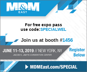 Exhibition Information: MD&M EAST 2019
