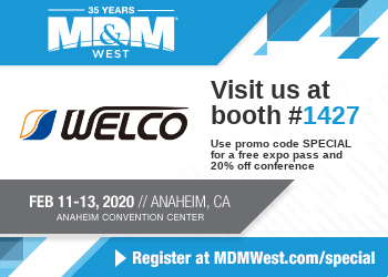 Exhibition Information: MD&M WEST 2020
