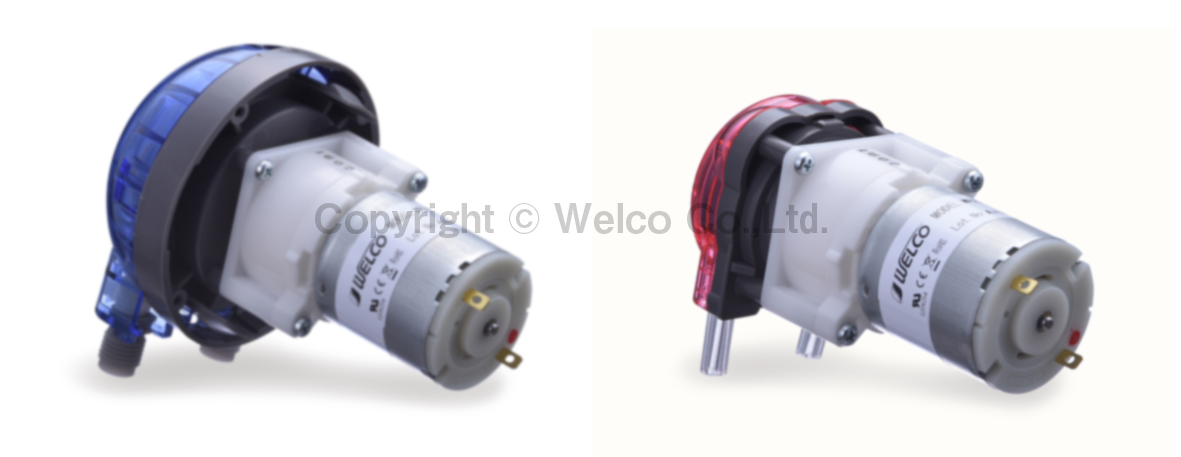 New DC12/24V Brush Motors for WP1000/1100 and WPX1