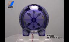 DC motor M type