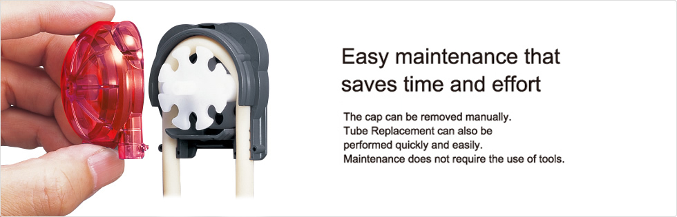 Easy maintenance that saves time and effort