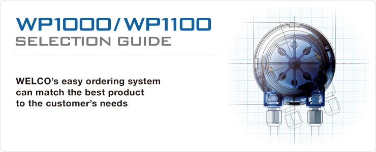 Selection Guide WP1000/1100 | Peristaltic pump & Dispenser : WELCO