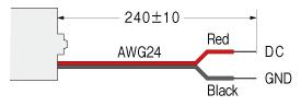 WPM ブラシレスモータ モータ結線図